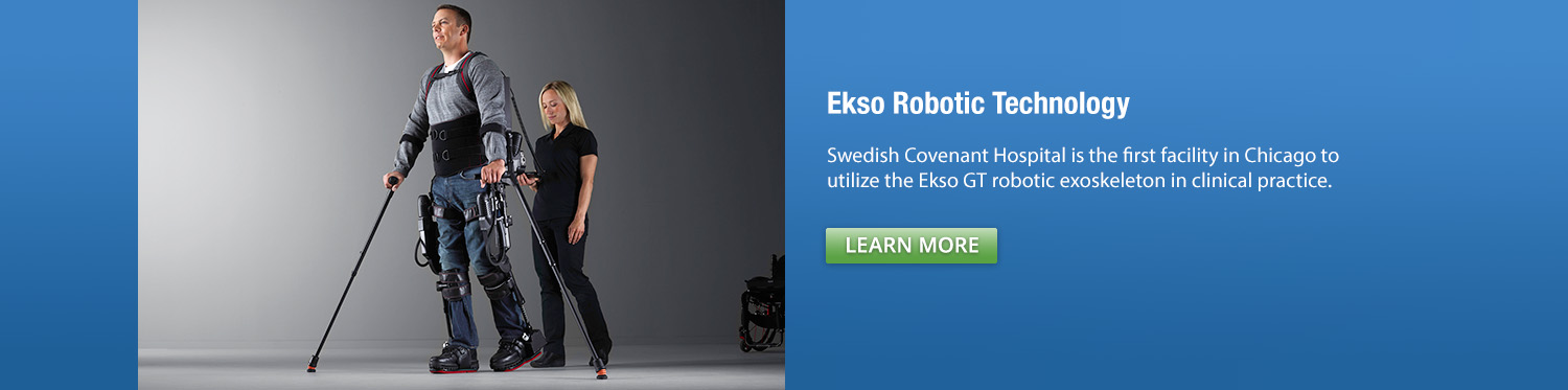 Ekso Robot- Rehabilitation Services