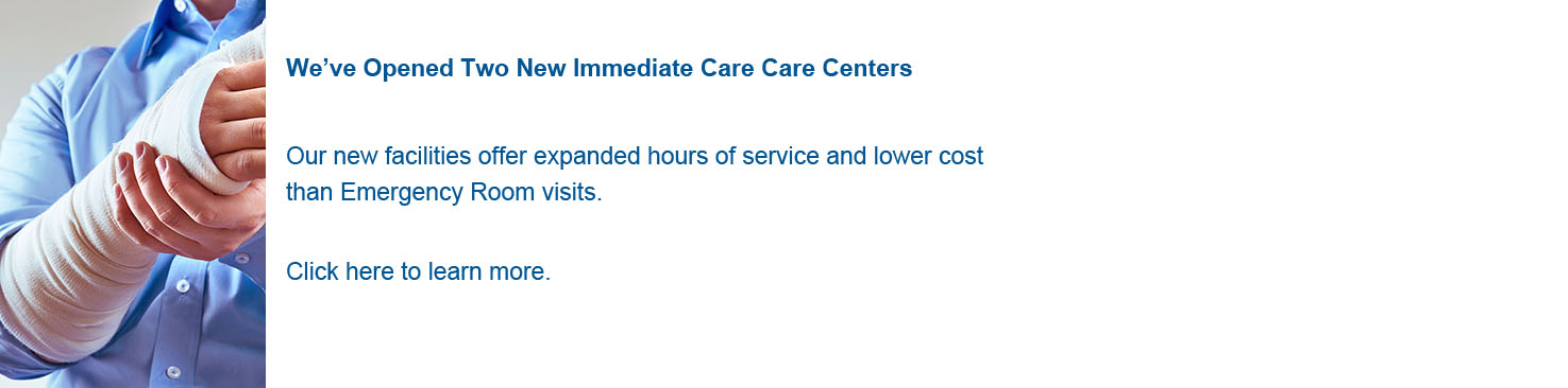 Immediate Care-now open